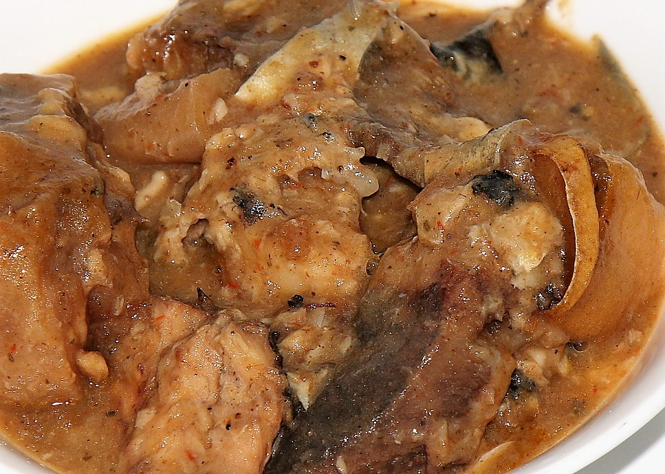 how to cook ofe nsala with goat meat